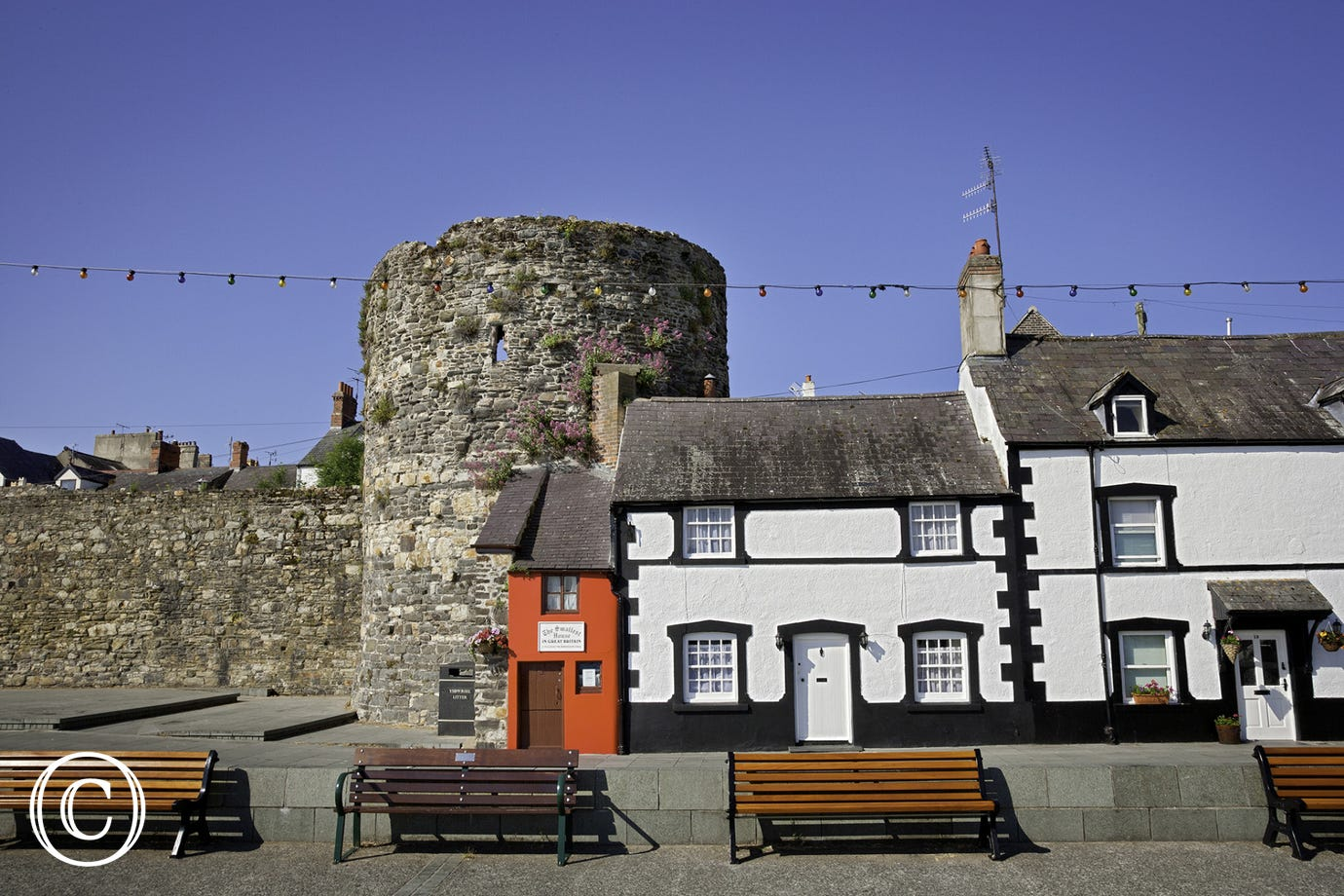 Wales and Britain's smallest house