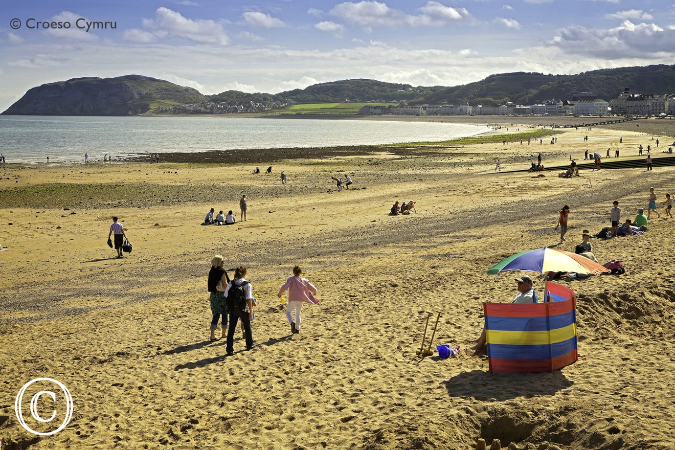 Llandudno's North Shore Beach