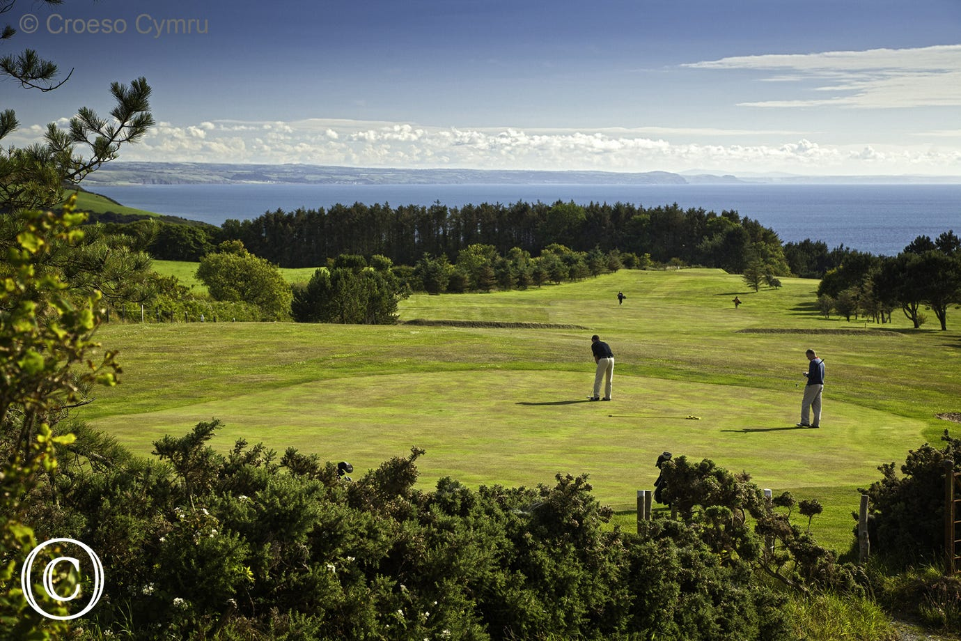 Aberystwyth's scenic Golf Course
