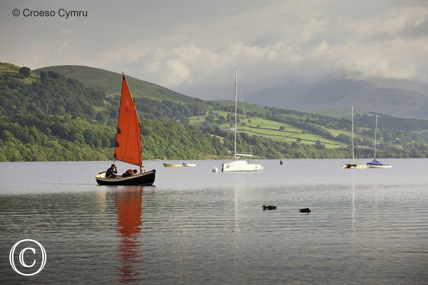 Watersports on the doorstep at Llyn Tegid (Bala Lake)
