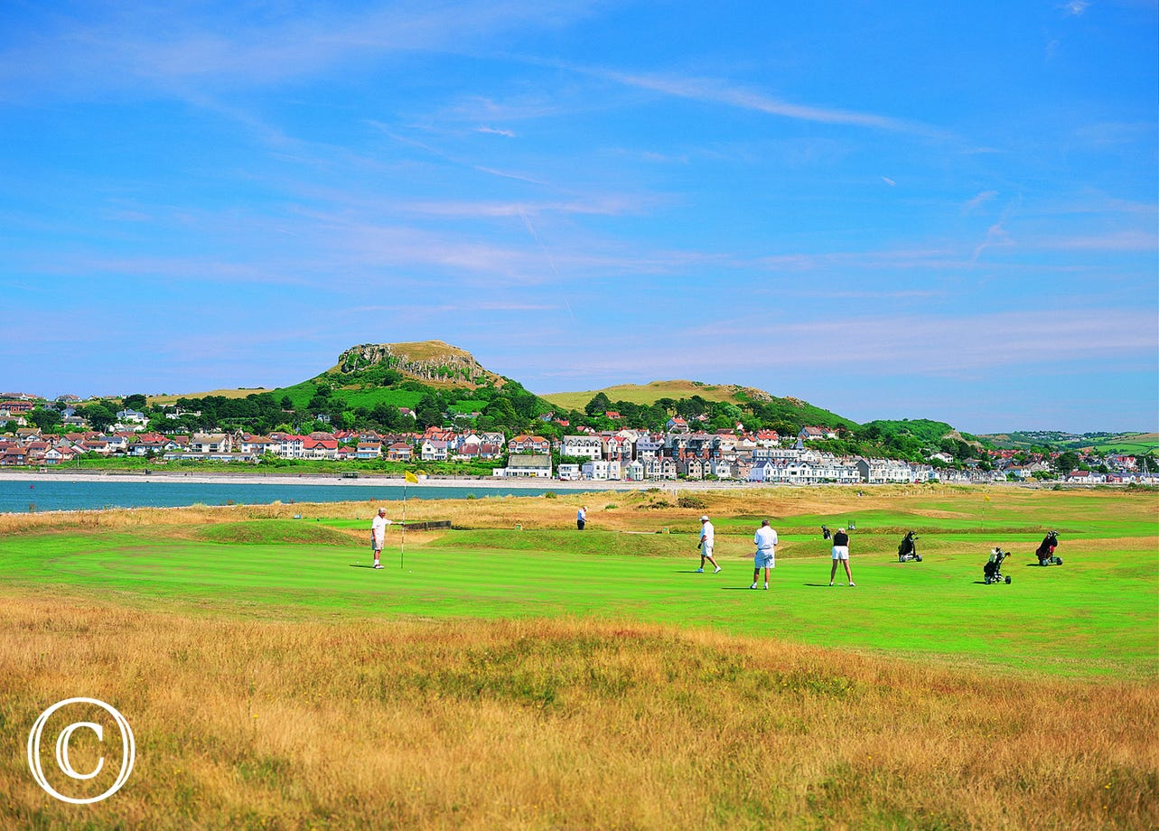 Enjoy a round of golf at one of the best courses in the world