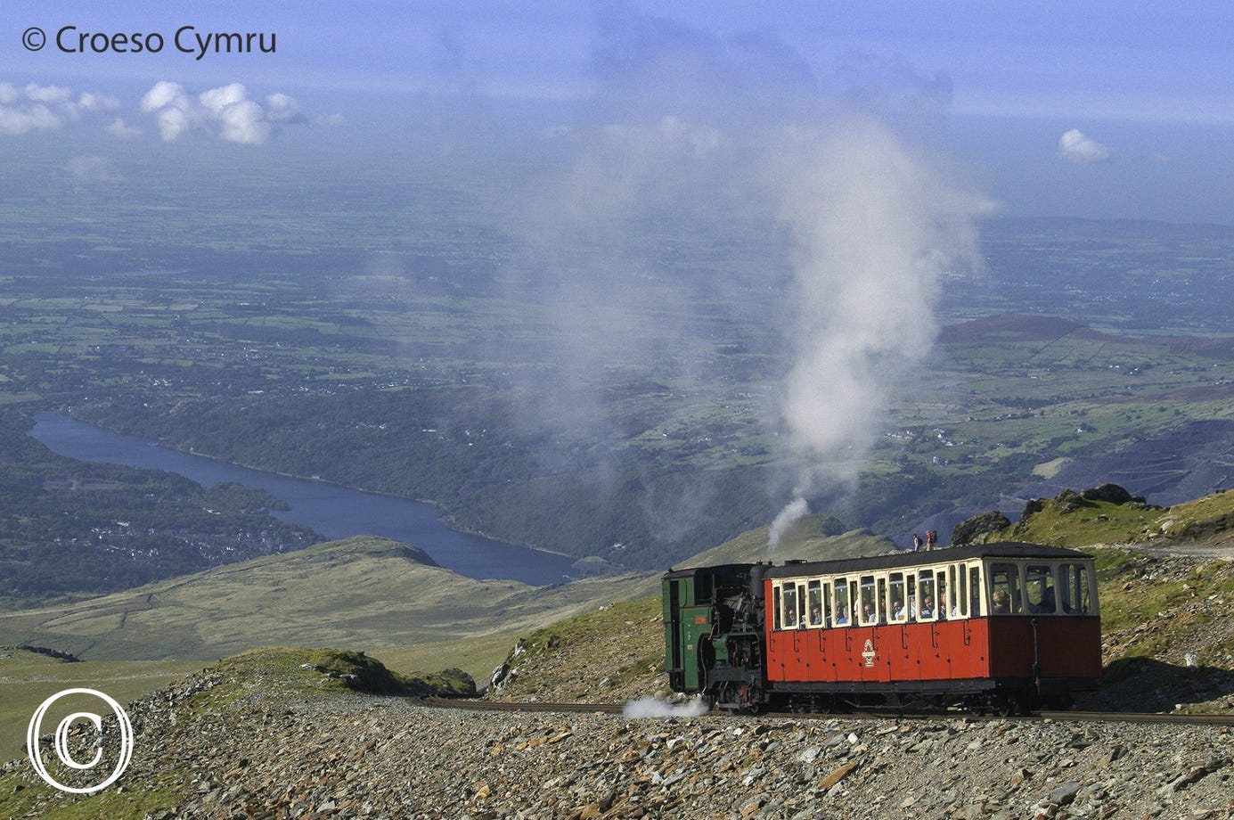 Sit back and let the steam train do the work as you climb to the top of Snowdon.