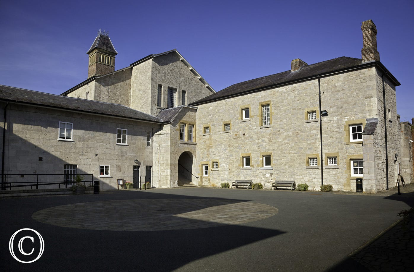 Gaol Museum at medieval town of Ruthin