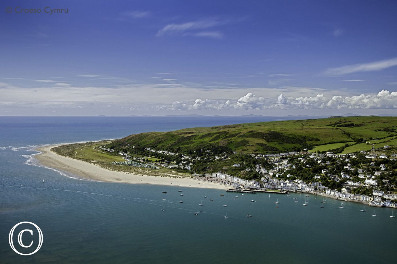 One of the first stops is Aberdyfi, just 10 miles away