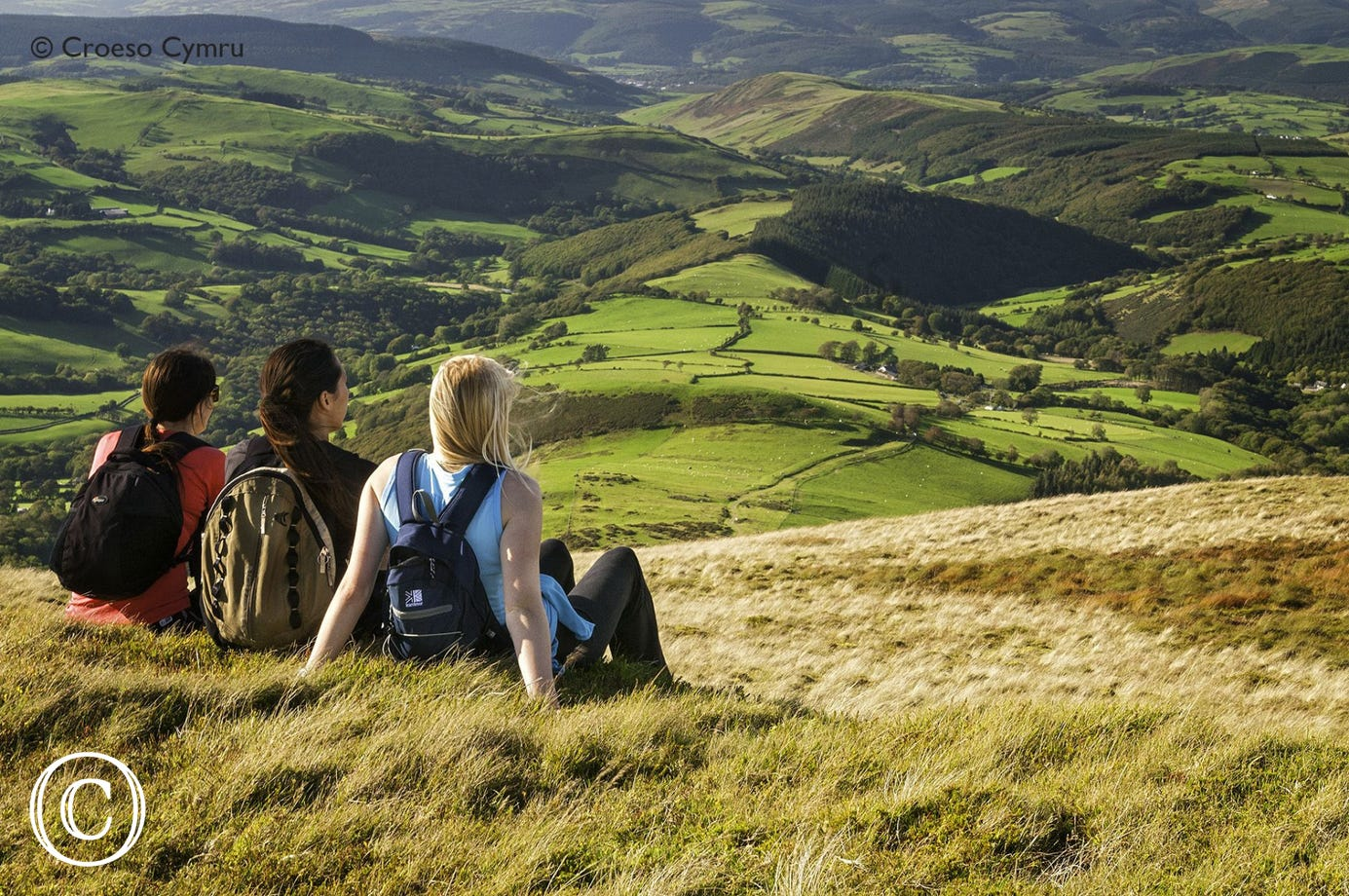 Great walking country with numerous walks starting from Machynlleth