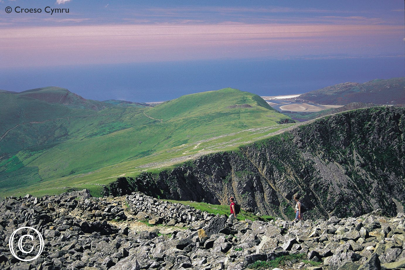 Enjoy some very rewarding views from the peaks of Cader Idris