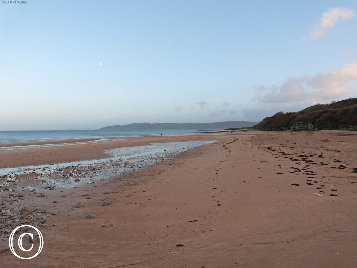 Benllech Beach - only a quarter of a mile from your cottage
