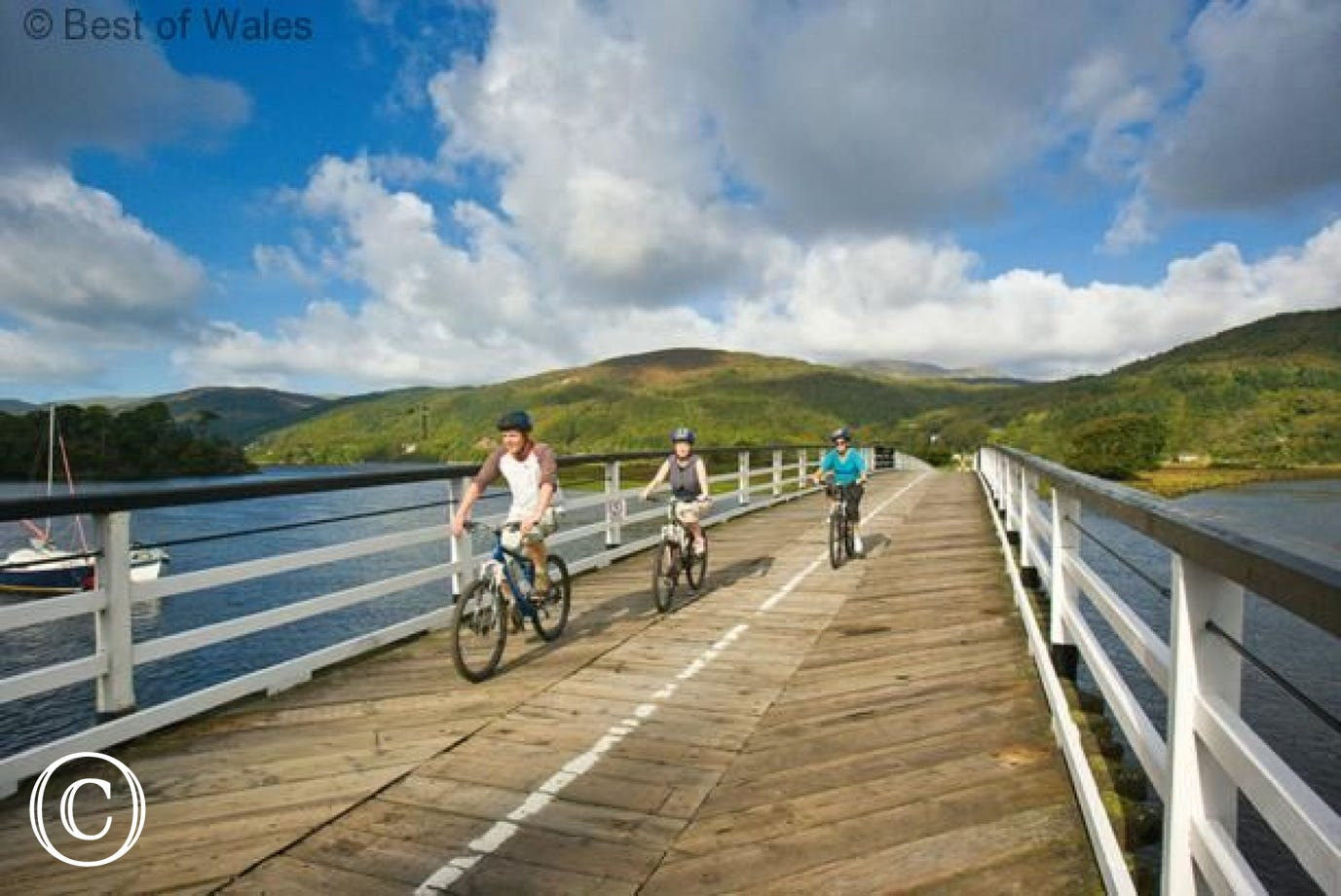 Walk or cycle the Mawddach Trail from Dolgellau to Barmouth