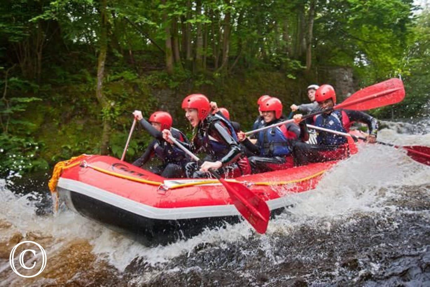 Enjoy a day of watersports at the National White Water Centre, Bala
