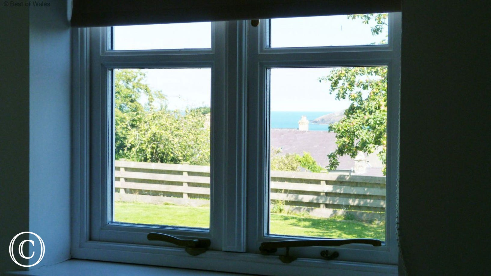 Sea View from this Newport Holiday Cottage
