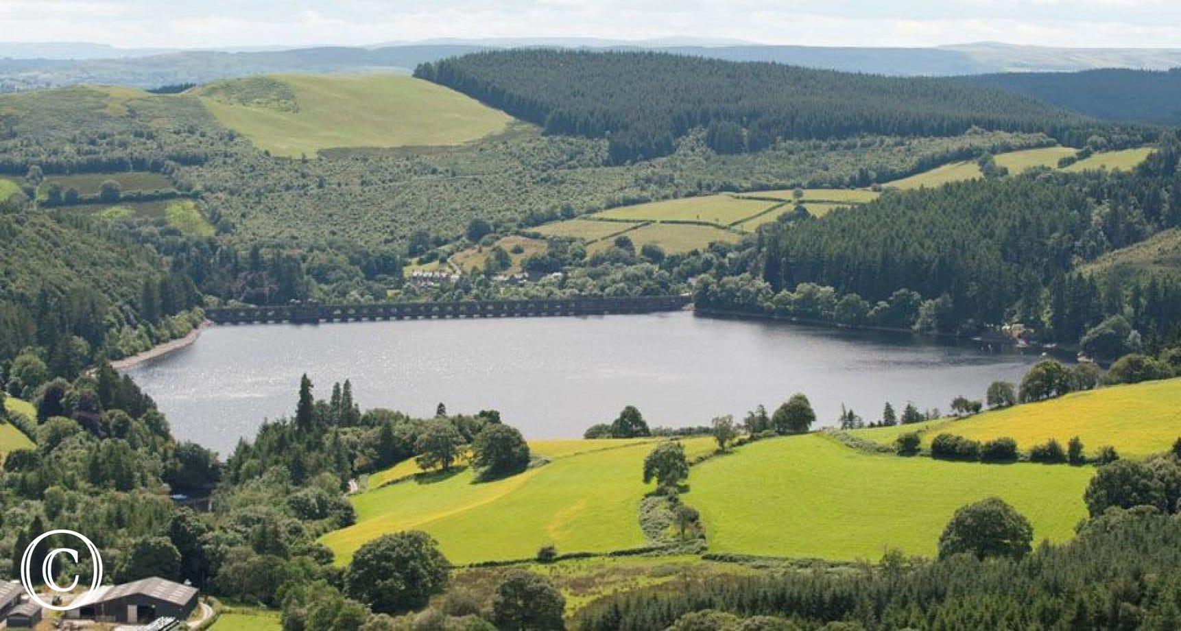 Lake Vyrnwy - a great venue for cycling, watersports and fishing