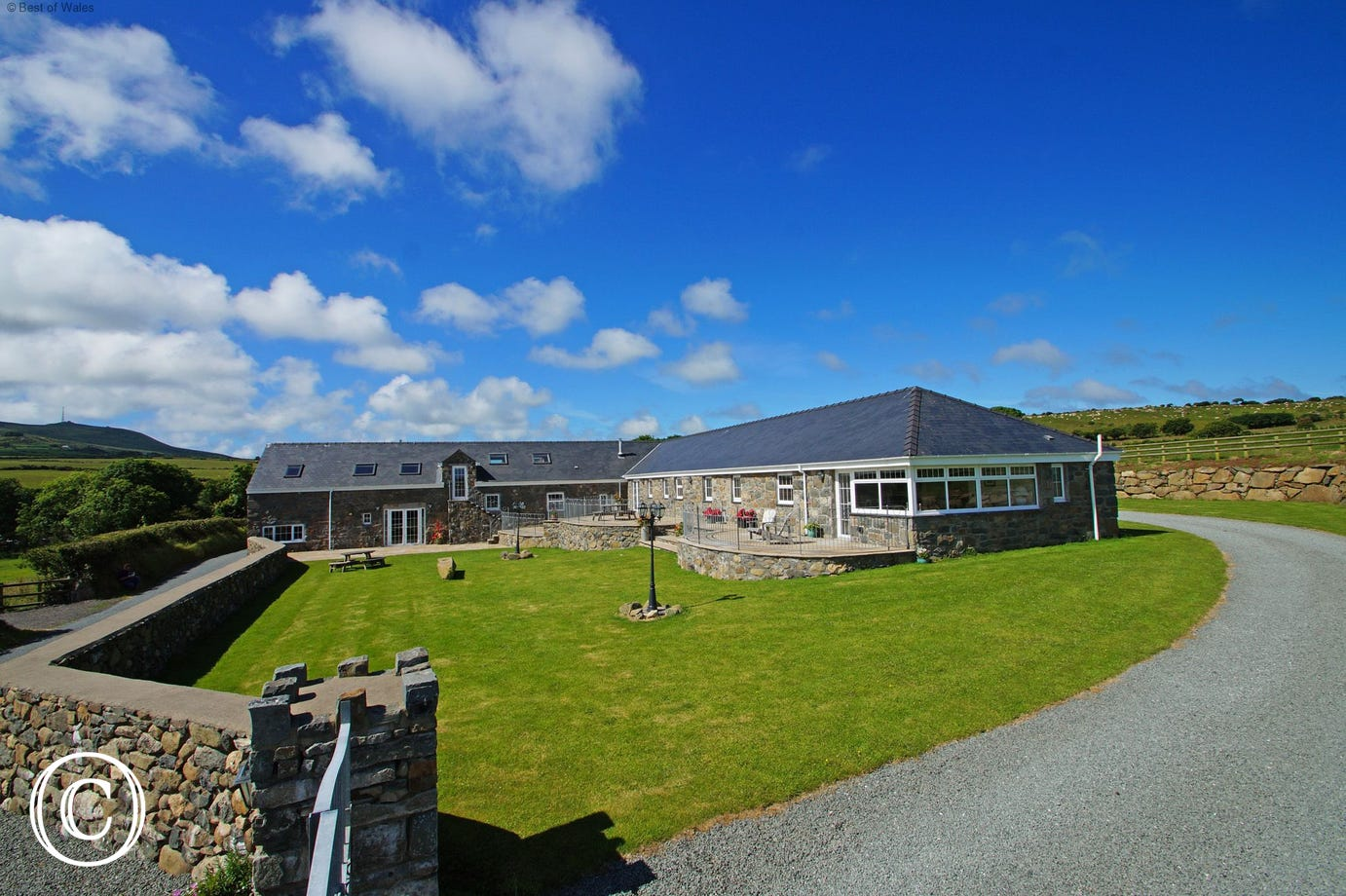 Large North Wales holiday accommodation is the perfect setting for your group get-together