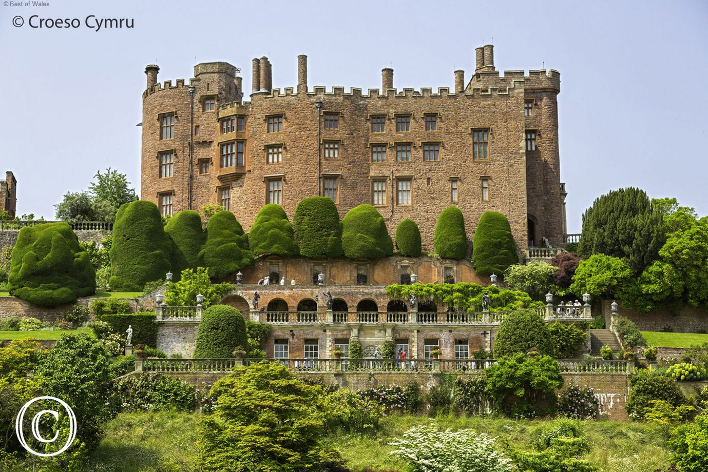 Enjoy a relaxing day out at Powis Castle and its beautiful gardens