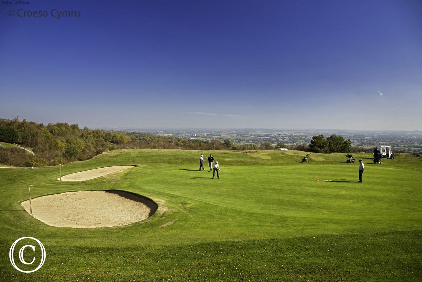 Welshpool Golf Club - 18 hole golf course just 6 miles from the cottage