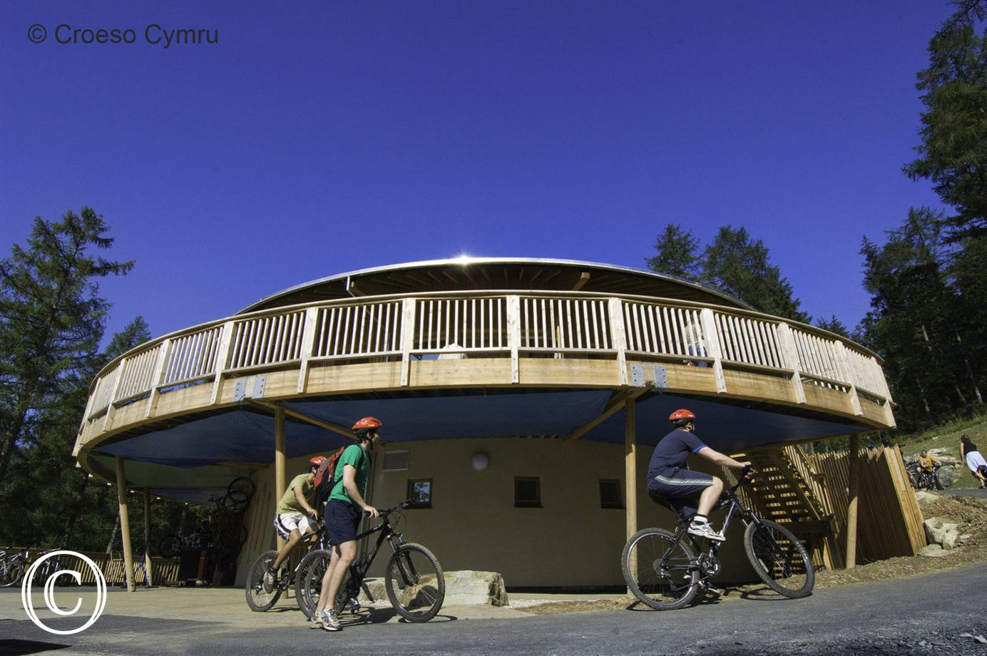 Coed-y-Brenin Mountain Biking Centre – Suitable routes for all ages.