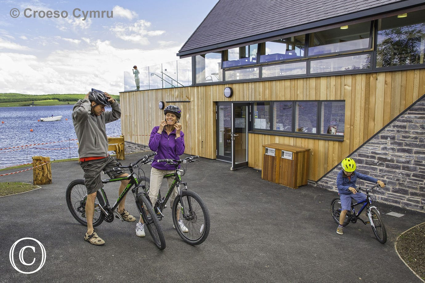 Llyn Brenig is a great venue for scenic walks, cycling and fishing. Visitor Centre and cafe on site