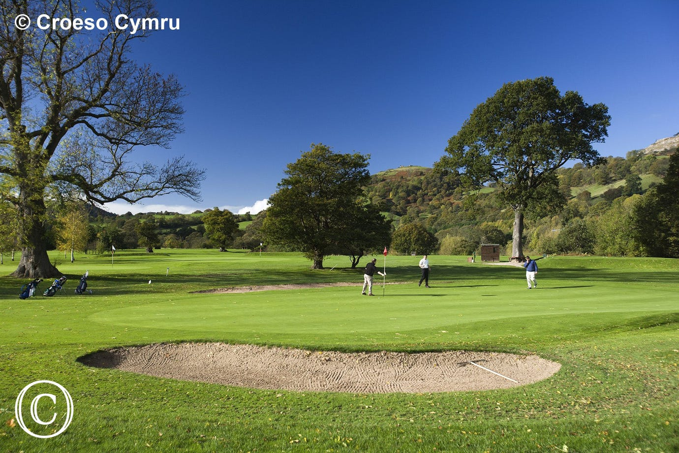 Llangollen Golf Club - one of many in the area