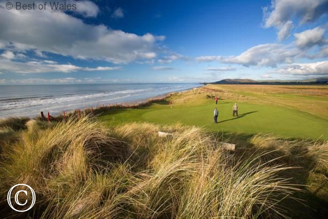 Enjoy a round of golf by the sea on Aberdyfi's 18 hole golf course