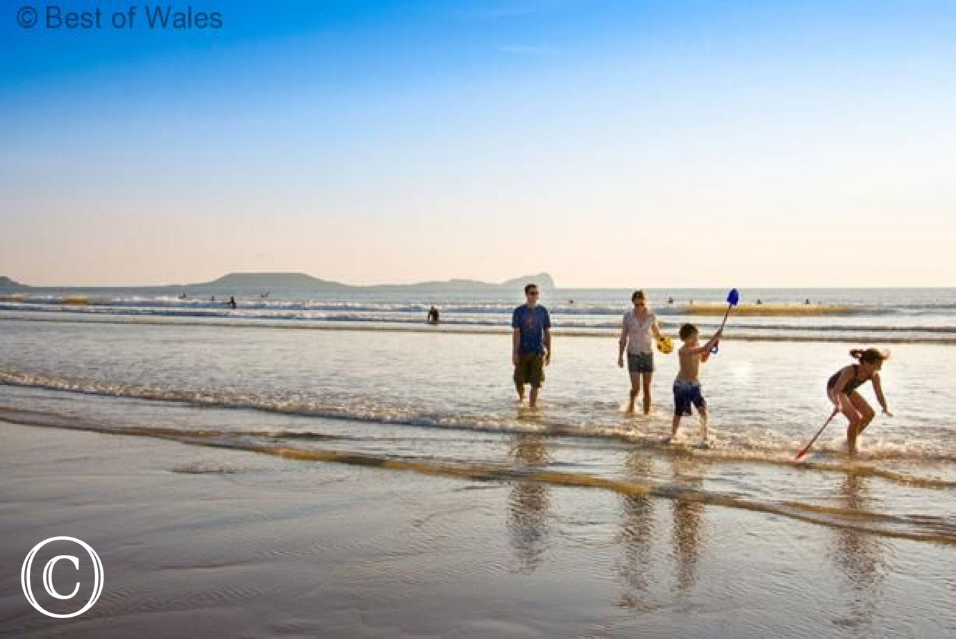 Great family beaches in Gower