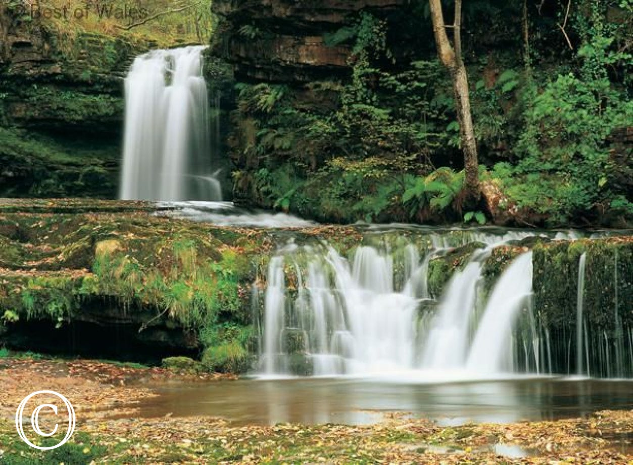 Superb waterfalls nearby  - Ystradgynlais