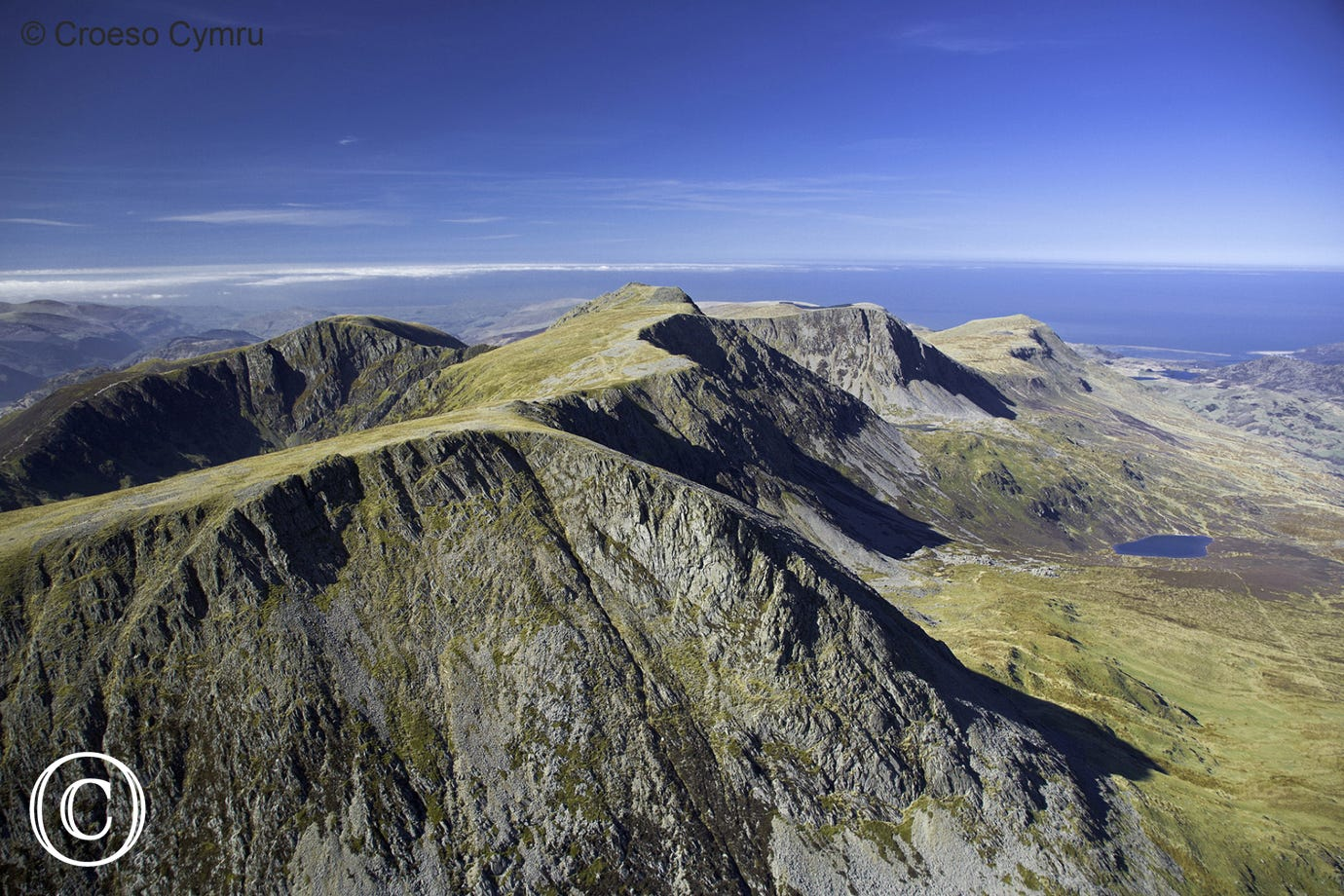 Breath-taking views from the peak of Cader Idris