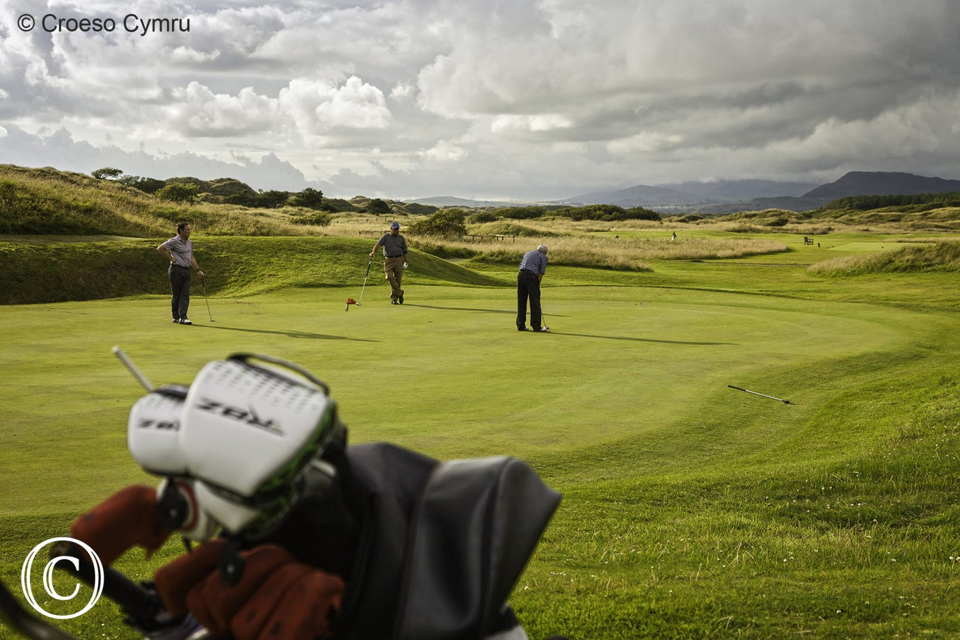 Enjoy a round of golf at Royal St. David's 18 hole golf course