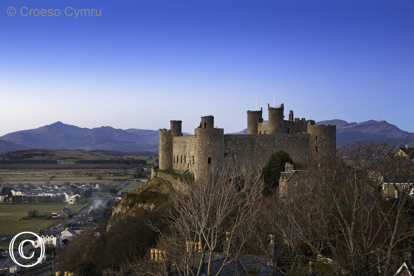 Harlech Castle - a World Heritage Site