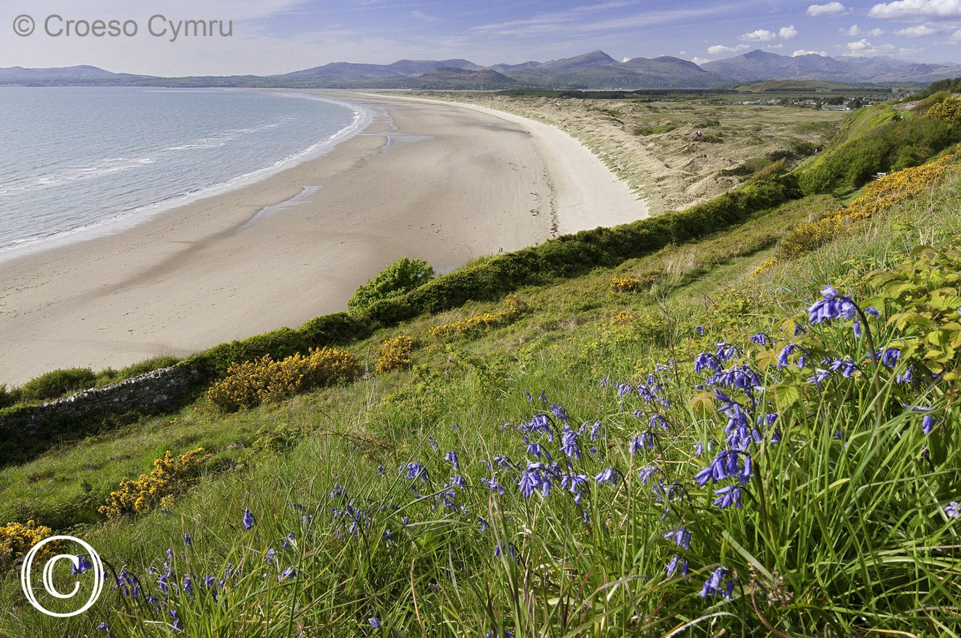 Harlech Beach - another blue flag beach a few miles north
