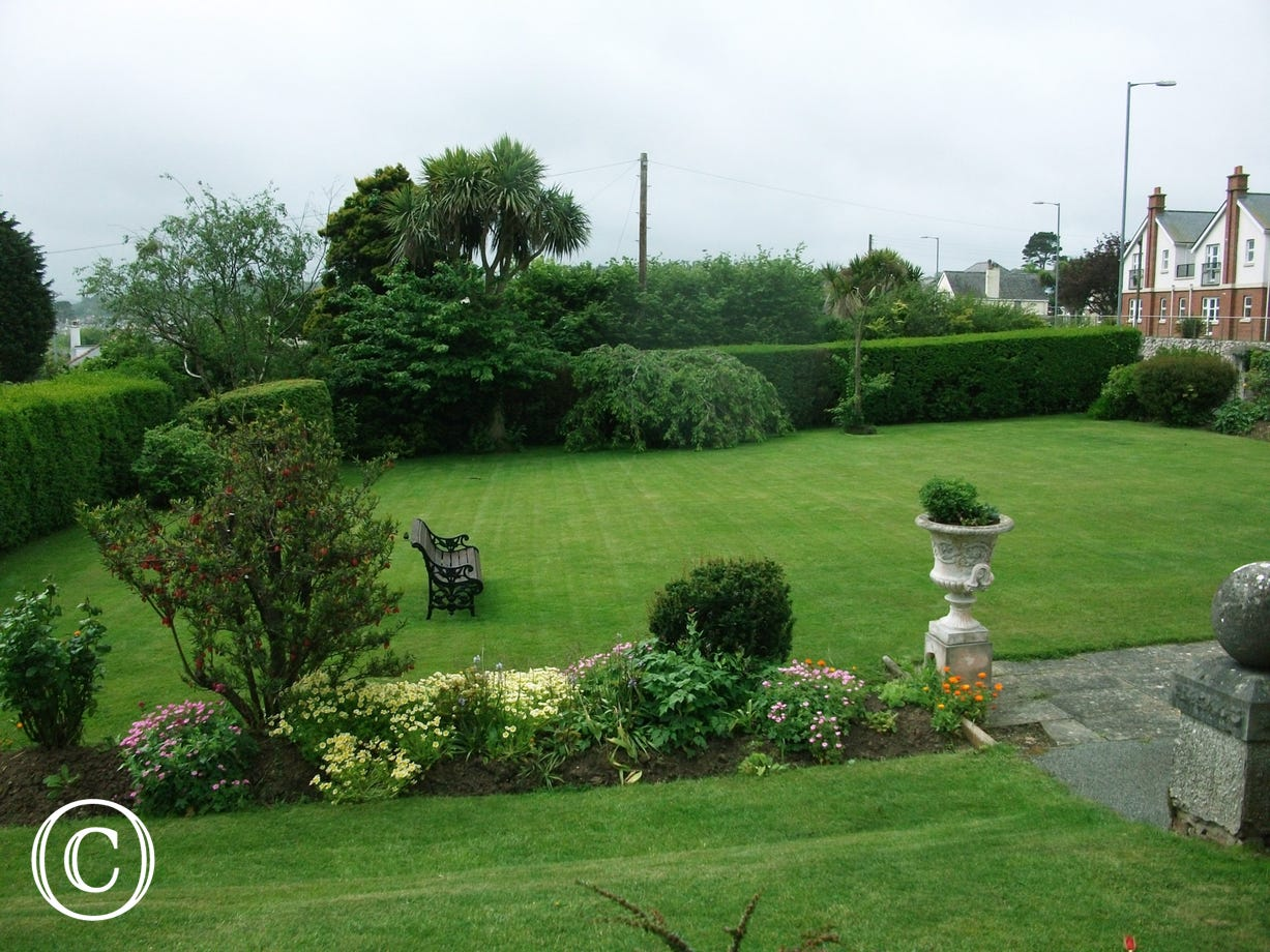 Beautiful garden on the grounds surrounding this 5 star cottage
