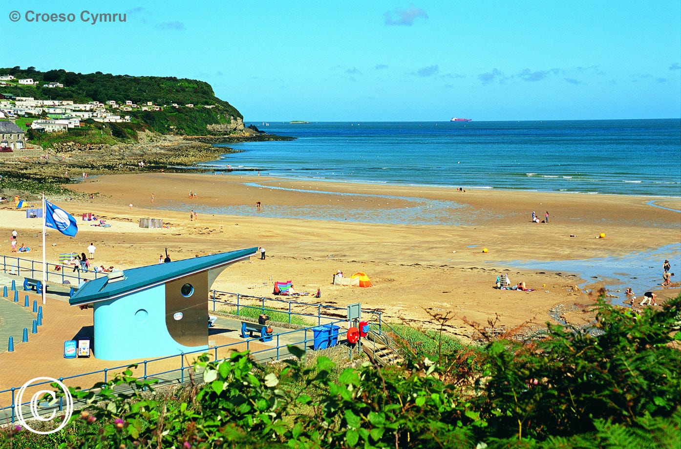 Traeth Benllech Beach, walking distance from the cottage
