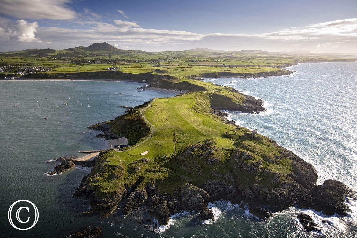 Morfa Nefyn Golf Course - they don't come much more scenic than this
