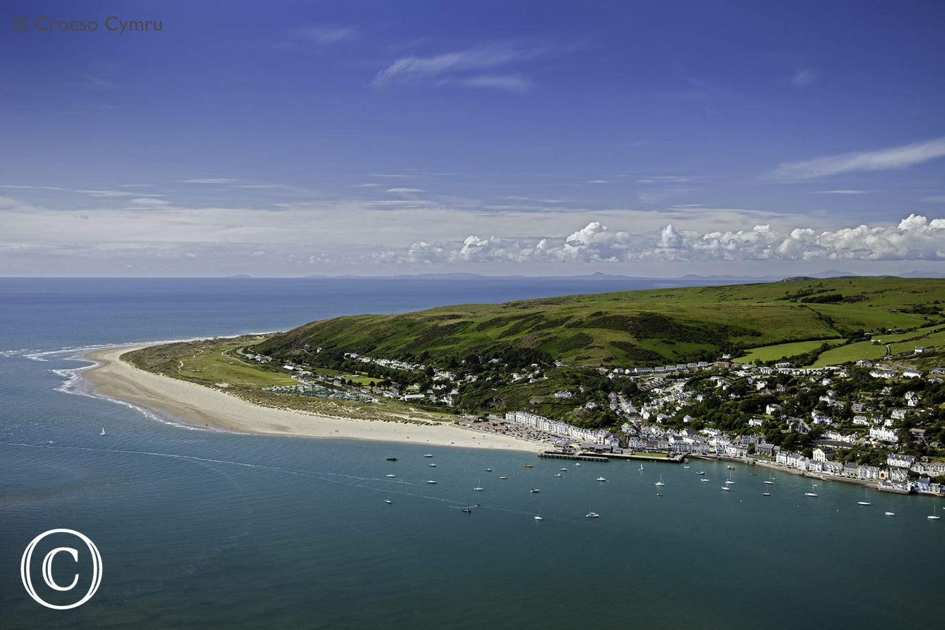 The beautiful seaside resort of Aberdyfi, 6 miles from the cottage