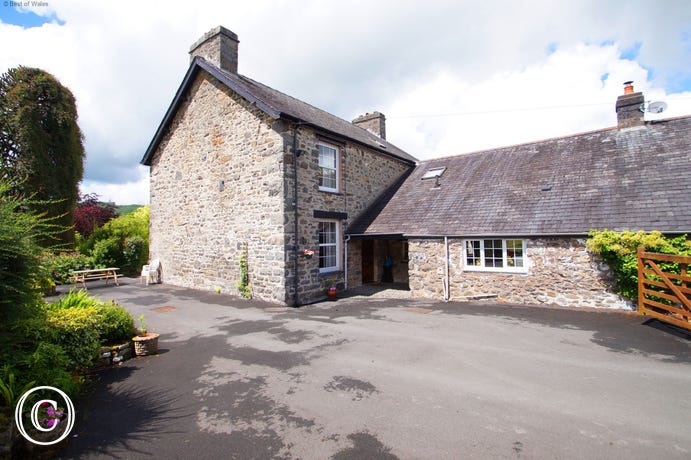 Self catering in Mid Wales - farmhouse holiday near Machynlleth
